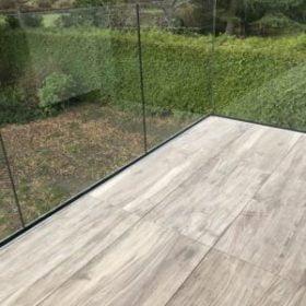 New Forest Glass Balcony